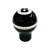 Gearshift Knob Billet Billiard 8 Ball Black Manual Multi-Fit / Universal 7.5cm