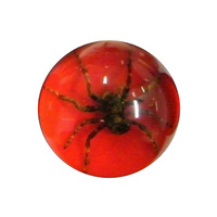 GEARSHIFT KNOB MANUAL HUNTSMAN SPIDER RED BASE ALLOY MULTI-FIT