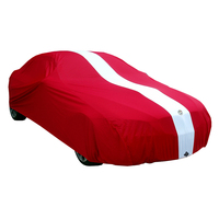 Show Car Cover for Ford Mustang Ecoboost Fastback 2015 2016 2017 - Red