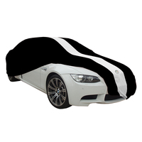 Show Car Cover for Ford BA BF FG XR6 XR8 Softline Indoor Non Scratch - Black