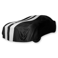 INDOOR SHOW CAR COVER GT GRAN TURISMO FOR NISSAN GTR R35 2009>2018 - BLACK