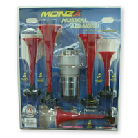 Horn - La Cucaracha - Musical Air Horn 12v - 5 X Horns INC Mounting Kit