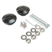 BILLET BONNET LOCK PIN KIT BLACK FORD FALCON XK XL XM XP XR XT XW XY