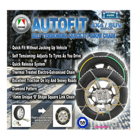 SNOW CHAIN KIT 4X4 4WD FOR VOLKSWAGEN AMAROK WITH 245/65R17 TYRES RIMS - CA450