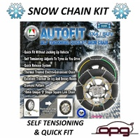 Autotecnica Snow Chain Kit 4x4 4WD fits Nissan Murano 235/65 R18 Wheels / Rims CA460