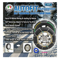 Snow Chain Kit 4x4 4WD SUV 265/65 R18 With All Terrain Tyres / Wheels / Rims CA490