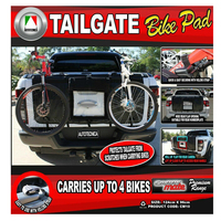 Autotecnica CM10 4 Bike Racks Carrier Tailgate Pad for Truck Pick Up/Ute