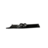 Dual Pillar Pod Gauge Holder BLK Landcruiser 76-79 Series W/Grab Handle 2009-17