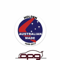 DECAL Australian made Holden 1948-2017 HOLDEN COMMODORE HDT HSV VB VC VH VK VL