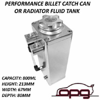 M003s Performance Oil Catch Can 800ml Billet Aluminium Mount Included