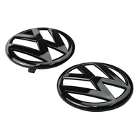Badge Combo Grille & Hatch for Polo 6R 2009-14 VW Volkswagen Gloss Black