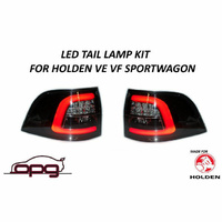 LED TAIL LAMPS SPORTWAGON FOR HOLDEN VF SS SSV SV6 EVOKE CALAIS HSV - PAIR