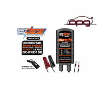 OZ CHARGE Pro Series 12 Volt 1.5 Amp 8-Stage Battery Charger Maintainer Car