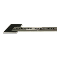 "Badge ""Supercharged"" Carbon for Audi S4 S5 S6 RS4 RS5"