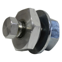 SAAS Performance Oil Temp Bung - Engine / Transmission Temp Screw In Bung 1/8 NPTF - Allows Sender Installation
