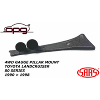 SAAS PILLAR POD FOR TOYOTA 80 SERIES LANDCRUISER 1990-1998 HOLDER MOUNT 52MM GAUGE