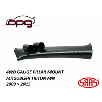 SAAS Pillar / Pod for Mitsubishi Triton MN 2009 > 2015 Holder / Mount 52mm Gauge