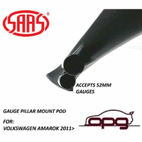 SAAS Gauge Pillar Pod for Volkswagen Amarok 2011 > for 52mm Gauges
