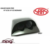 Gauge Dash Pod / Holder for HSV Holden Executive VY VZ 52mm Gauges Grey