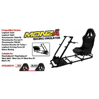 Monza Racing Simulator Monza-X� Racing Gaming Game Simulator Race/Rally Seat for Pc Ps4 and XBox One