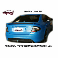Black LED Tail Lights Special Edition for Ford Falcon FG XR6 Turbo Blue Cars