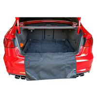 Bumper Bar Rear Protector & Trunk Boot Mat / Bumper Cover Sedan Hatch 2 In1 TG13