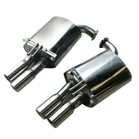 Exhaust Kit for VE SS SSV SV6 HSV Diff Back Ute Rolled Tips - Pair