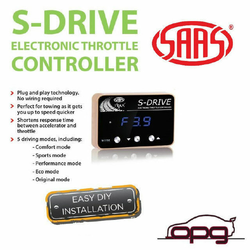 SAAS PEDAL BOX S DRIVE ELECTRONIC THROTTLE CONTROLLER FORD RANGER PX3 RANGER 19>